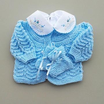 conjunto bebê - azul