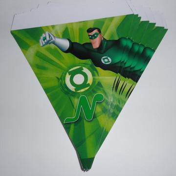 Bandeirola Lanterna Verde