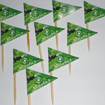 Bandeirinha Lanterna Verde