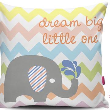Almofada Elefante Dream Big CandyColor