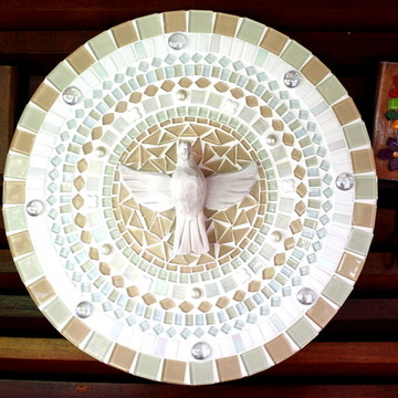 Mandala Divino Espírito Santo Rosê 40