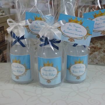 Mini álcool gel príncipe azul