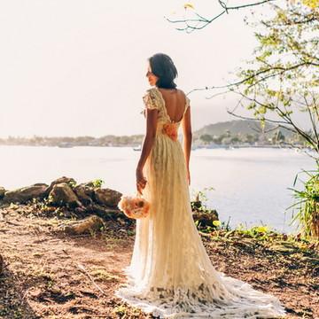 Vestido off white Havanna- Romântico