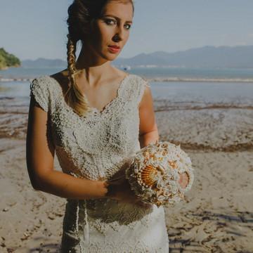 Vestido de noiva Mônaco - Boho chic