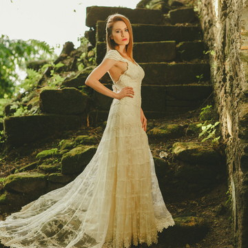 Vestido de noiva Onix - Boho Chic