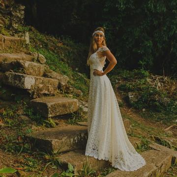 Vestido de noiva Santorini- Boho Chic