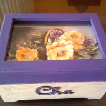 caixa de Chá em arte francesa