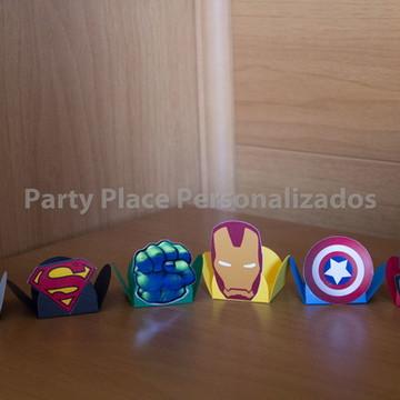 Forminhas Super Herois