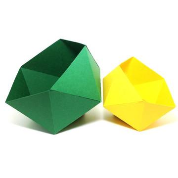 Pentagono decorativo e porta objeto