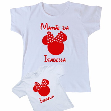Camiseta Tema Aniversario Minnie Persona