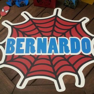 Banner Teia Homem Aranha