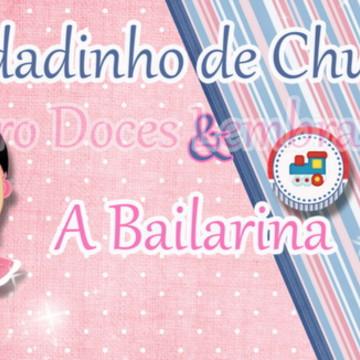 Convite Soldadinho e a Bailarina