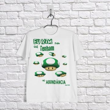 Camiseta Vida em Abundância
