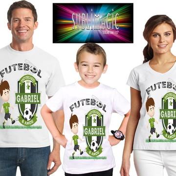 Kit 3 Camisetas Futebol