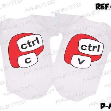 kit body irmãos gemeos Ctrl C e Ctrl V