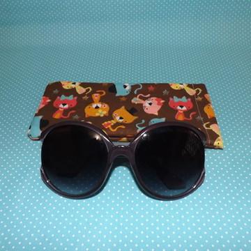 Porta-óculos gatinhos