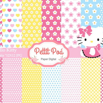 Papel digital Hello Kitty