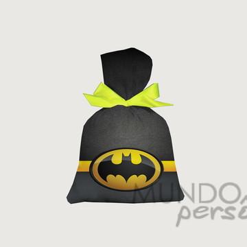 Saquinho Batman 15cm x 20cm