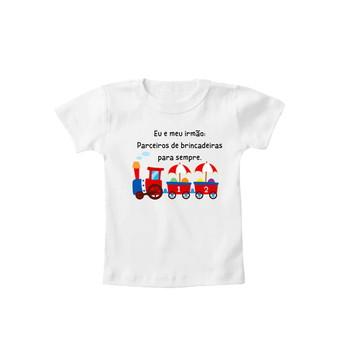 Camiseta OU Body Irmãos Parceiros