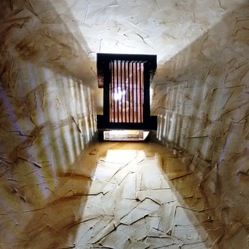 Arandela luminária de parede japones
