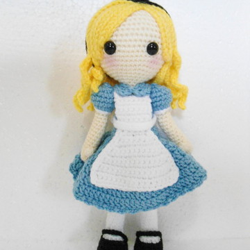 Amigurumi Alice in Wonderland 2.0
