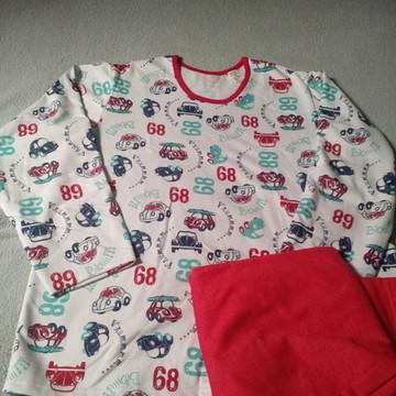 Pijama adulto flanelado GG