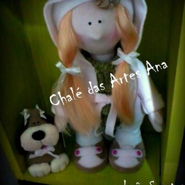 Molde Boneca Dog Dolls