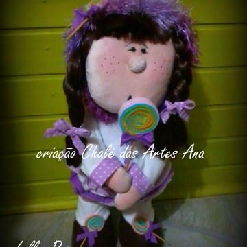 Molde boneca Lolly Pop