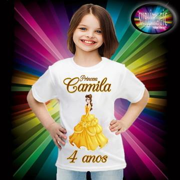 Camiseta Princesa Bela