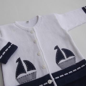 Saída Maternidade Conjunto Barco