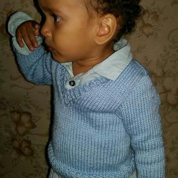 Suéter Infantil Tricot