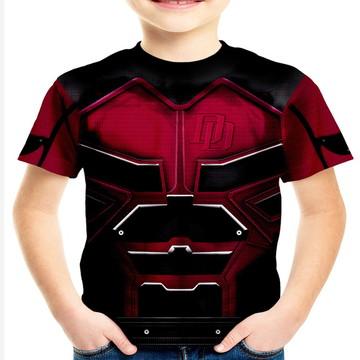 Camiseta Infantil Demolidor Daredevil