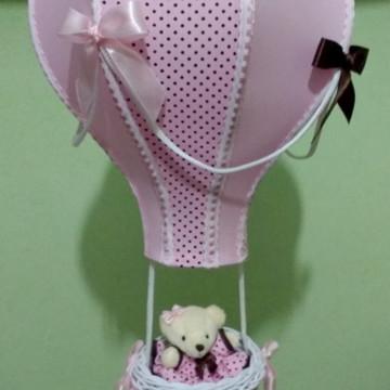 Lustre balão pendente personalizado nomeMaria Eduarda