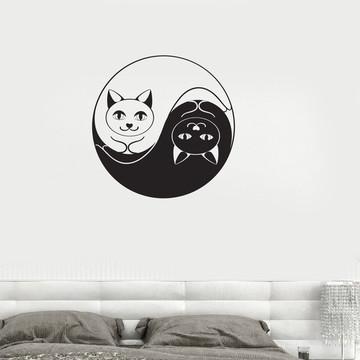 Adesivo gatos para Pets shop
