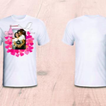 b1fc50380 Camiseta Personalizada para Casal