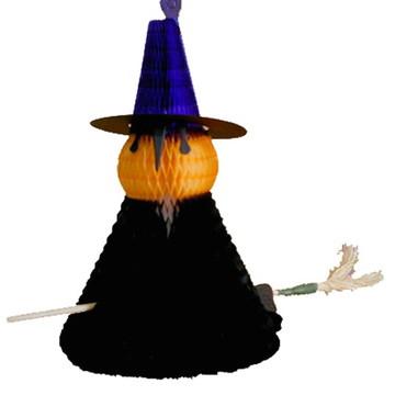 Bruxa 300mm Decoração dia das Bruxas Halloween Condominio