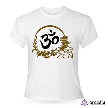Baby Look Om Zen - branca