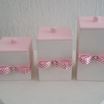 Potes Kit Higiene Feminino