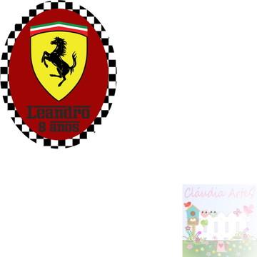 Adesivo tubete Ferrari