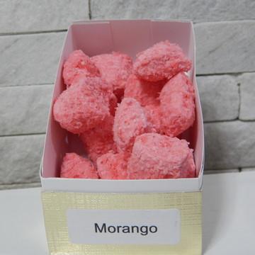 Bala de Coco sabor Morango