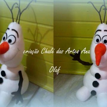 Projeto/Apostila Olaf de pano