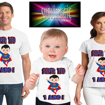 Kit 3 Super Man Cute