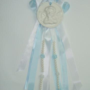 Anjo Porcelana para Decoração Batizado/Eucaristia