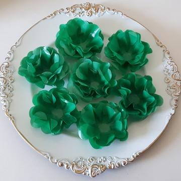 40 Forminha de Doces Finos Verde