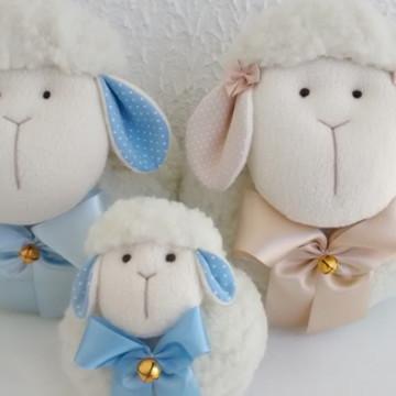 Família de ovelhas