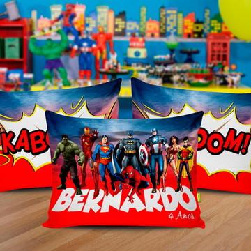 Almofada Personalizada Super Heroes