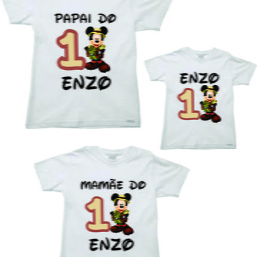 Kit para Aniversario Mickey Safari