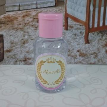 Mini álcool gel princesa