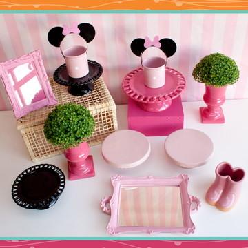 Pocket Party Minnie Rosa LOCAÇÃO