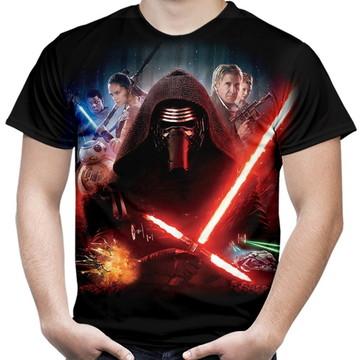 Camiseta Masculina Kylo Ren Star Wars
